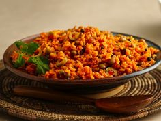 Arroz con Gandules - Cuban Rice with Pigeon Peas - can use half coconut milk and water