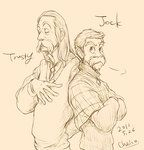Jock and Trusty by chacckco on deviantART