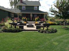 Returning to a Garden After Almost a Decade - FineGardening Brick Paver Patio, Brick Patios, Sun Garden, Lawn And Garden, Modern Wooden Doors, Fine Gardening, Built In Seating, Planting Bulbs, Garden Photos