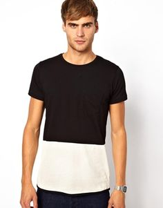 Native Youth Colour Block Pocket T-Shirt
