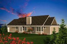 Affordable Ranch Home Plan - 89848AH thumb - 02