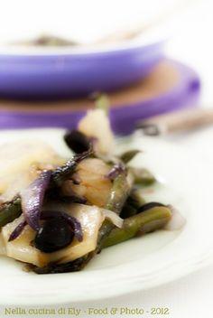 Padellata di asparagi e patate