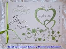 Gästebuch Hochzeit,Herzen,Hochzeit,Farbwahl,57