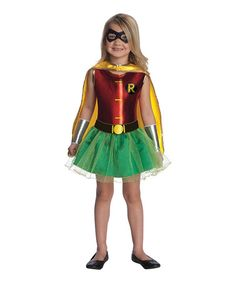The Girls' Robin Tutu Child Costume has a look she'll love with a fun superhero dress in red, green and yellow with cape. This girls' costume makes shopping easy - she's sure to have a blast this Halloween. Super Hero Costumes, Girl Costumes, Costume Ideas, Costumes Kids, Family Costumes, Infant Costumes, Awesome Costumes, Jazz Costumes, Party Costumes