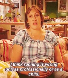 Pin for Later: Hilarious GIFs Showing Exactly Why You're Not Losing Weight So is sitting for nonprofessional adults?
