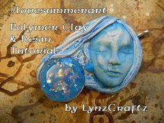 Polymer Clay & Resin can I bake it? #lovesummerart - YouTube