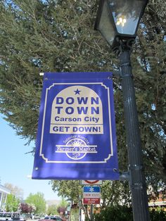 Go enjoy your local farmers market in Downtown Carson! #CarsonCity