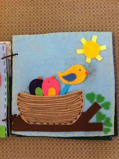 Quiet Book Pages on Pinterest | 172 Pins