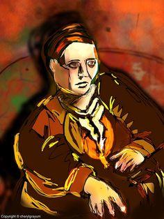 Gertrude Stein - Picasso Challenge