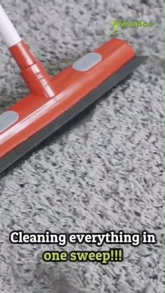 Diy Cleaning Products, Cleaning Hacks, Rubber Broom, Push Broom, Cast Iron Recipes, Clean Freak, Cool Inventions, Cooking Tools, Cool Gadgets