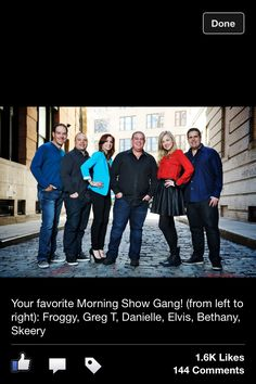 Elvis Duran and the Morning Show Crew help me start my day off with laughter