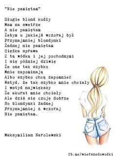 maksymilian narolewski jakies wiersze do wodki Blond