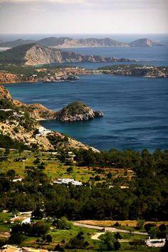 Ibiza, Es Cubells views