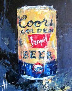 An Original Fine Art Gallery by Daily Paintworks Beer Art, Gallery Website, Palette Knife Painting, Fine Art Gallery, Paintings For Sale, Art Inspo, Canvas, Artist, Artwork