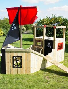 lovehome.co.uk: Garden design ideas for kids' outdoor playhouses