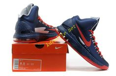 33d9ae351715 Navy Blue Sport Red Nike Zoom KD V 554988 061