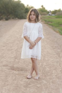 She is fireflies & freedom. Tall grass & tulips. A true barefoot beauty. Sometimes I love to just watch her think, and wonder where her mind wanders, and hope to God that I am with her. #bsteelephotography #childmodel #kidmodel #phoenix #arizona #militarychild #blueeyes #shorthair #barefoot #flowergirldress