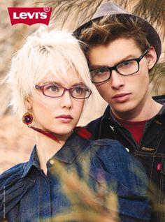 Levi's 2014 Eyewear Advertisement - Couple Optical