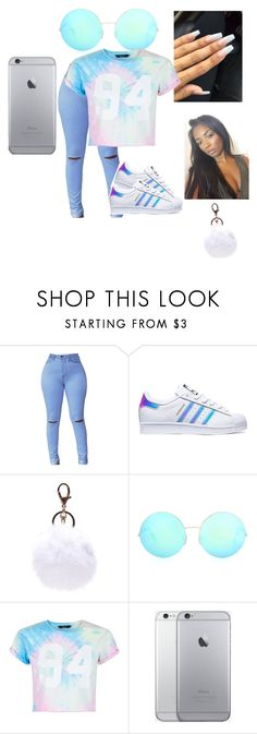 """Untitled #331"" by iamwhoiam101 on Polyvore featuring adidas, Victoria Beckham and New Look"