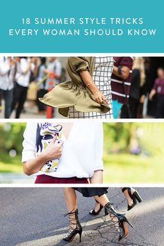 18 Summer Style Tricks Every Woman Should Know via @PureWow