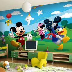 mickey mouse and friends childrens wallpaper muram