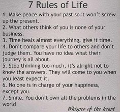These are so right on. I have learned to do some of them but still have a few to work on.