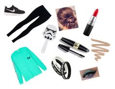 """""""Untitled #18"""" by taylorisawesome333 on Polyvore featuring NIKE, Victoria's Secret, Max Factor and MAC Cosmetics"""