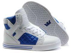 Supra Skytop White Blue Men's Shoes
