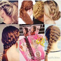 beliebte haare flechten braider tool roller mit magic haar-Twist styling bun maker