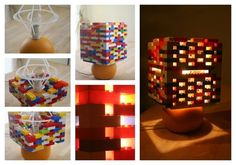 Lamp   16 Awesome Things You Never Thought You'd Make With Legos