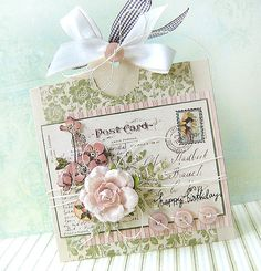 Scrappymo!'s Gallery: {happy Birthday} - card with tag