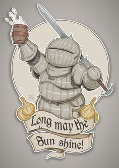 Dark Souls: Siegward of Catarina by DQuinn89