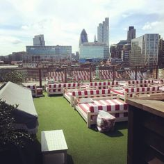 Shoreditch House Roof Gardens #WishIWasntWorking