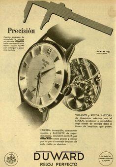 Reloj Duward. Año 1960