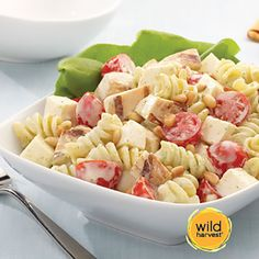 Basil Chicken Pasta Salad by Wild Harvest. It's your turn! Pick. Pin. Dine & Enter to WIN a $500 Gift Card: http://shout.lt/ms28