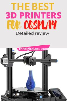 If you are looking for Best 3D Printers for Cosplay then you are at the right place our guide will helps to choose the best product due to your needs. in depth review Best 3d Printer, Best Printers, Cosplay