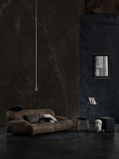 Sofa in Twilight. Love it!  Photo is beautiful as well