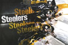 Steelers 1968 poster