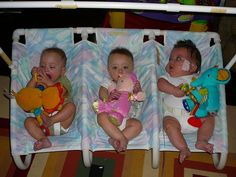 now this is pretty awesome. PVC rocker for triplets.