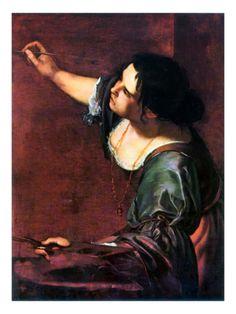 Artemisia Gentileschi by Artemisia Gentileschi. Giclee print from Art.com.