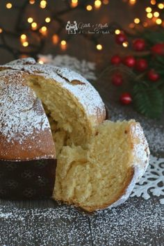 Mini Desserts, Sweet Desserts, Sweet Recipes, Christmas Sweets, Christmas Baking, No Carb Bread, Bread Carbs, Good Carbs, Italian Pastries