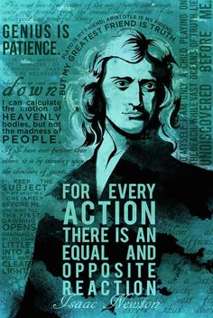 Isaac Newton Science Quotes Poster Printed on 100 lb polar white photo paper with a sharp, crisp app Science Quotes, Science Humor, Science Art, Science Activities, Biology Humor, Chemistry Jokes, Grammar Humor, Physics Humor, Life Science