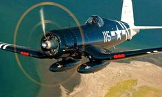 CORSAIR with two drop tanks,