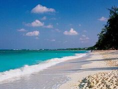 Grand Cayman's Seven mile beach...yes, the water really does look like this...
