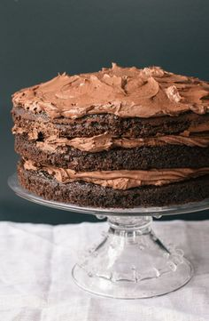 A Timeless Classic.  Chocolate Layer Cake from The Kitchn