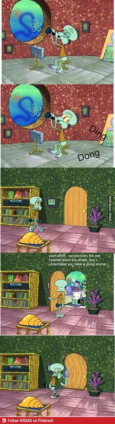 That good humor in SpongeBob