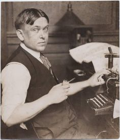 September 12, 1880 - H. L. Mencken an American journalist is born in Baltimore, Maryland