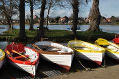 Boats at Thorpeness, Suffolk