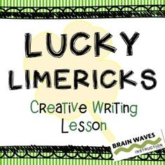 In this lesson students will learn the background of limericks and the elements that make up this funny type of poem. Using a detailed Limer...