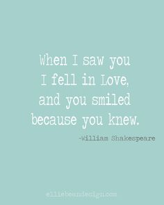 William Shakespeare love quote...so profound! Free printable!